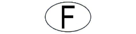 Oval of Guadeloupe: F