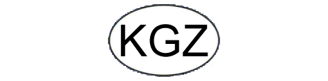 Oval of Kyrgyzstan: KGZ