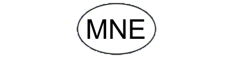 Oval of Montenegro: MNE