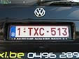 Taxi plate. 1 = standard plate. TX = taxi