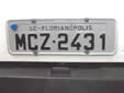 Normal plate. SC = Santa Catarina<br>Submitted by Harald Schapperer from Germany