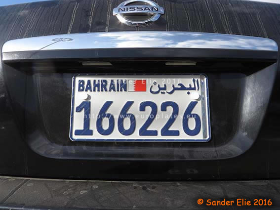Euro License Plate >> €uroplates License Plates | Middle-East | Bahrain