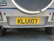 Normal plate (rear, old style)