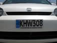 Normal plate (front, old style)