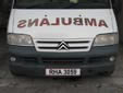 Ambulance plate. RHA = governmental vehicle
