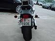 Export motorcycle plate. E = Export<br>T = Moravskoslezský kraj (Ostrava region)<br>Submitted by Martin Šarlina from Slovakia