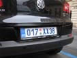 Diplomatic plate. XX = administrative and technical staff