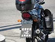 Military motorcycle plate