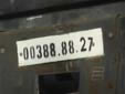 Provisional plate (front). 27 = Mostaganem<br>Submitted by Menno from The Netherlands