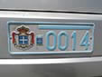 Normal plate from the 'Principality of Seborga' (unofficial)<br>Submitted by Menno Jansen from the Netherlands