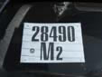 Provisional plate. M2 = Firenze (Florence)