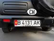 Normal plate. B = Bishkek