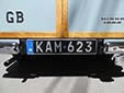 Old-timer plate<br>The use of these plates is controlled by strict rules with respect to the use of, and modifications to the vehicle. Standard plates are required when not complying to these rules.