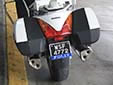 Police motorcycle plate<br>Submitted by George von Gabain from the Netherlands