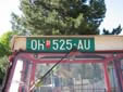 Agricultural vehicle's plate (old style). OH / OX = Ohrid