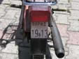 Moped plate (old style). ОХРИД = Ohrid