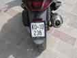 Motorcycle plate (old style) from the former Republic<br>of Serbia and Montenegro. KO = Kotor