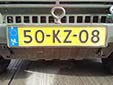 Military plate. KZ = Koninklijke Landmacht (Royal Army)<br>Submitted by George Gabain from the Netherlands