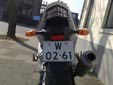 Temporary motorcycle plate