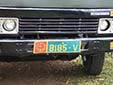 Military plate. Green background = army<br>Submitted by George von Gabain from the Netherlands