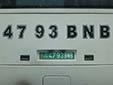 Governmental plate. BN = Balkan province