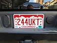 Apportioned truck plate (inter-state commercial vehicles; 2000 series)<br>ATK = apportioned truck. APP = apportioned