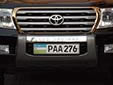 Governmental plate (PAA)