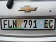 Normal plate. EC = Eastern Cape province<br>Submitted by Julie Huizinga from The Netherlands