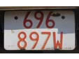 Public service vehicle's plate (old style)<br>Submitted by Det Baggen from the Netherlands